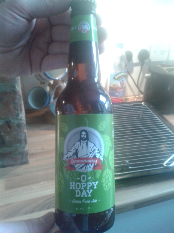 I brew beer, I'm a Christian and I have a sense of humour